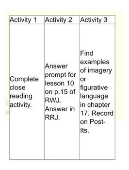 5th Grade ReadyGen Unit 1 Module A Lesson 10 for Smart Board