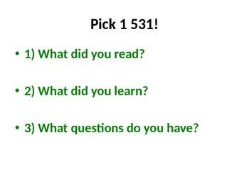 5th Grade Readygen Unit 1 Power Point and Lesson Plans - Hatchet