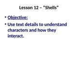 5th Grade Readygen Unit 1 Power Point and Lesson Plans - Shells
