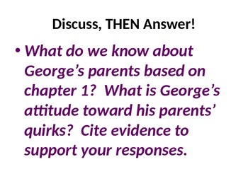 5th Grade Readygen Unit 3 PowerPoint - George's Secret Key to the Universe