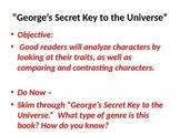 5th Grade Readygen Unit 3 PowerPoint - George's Secret Key