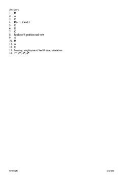 5th Grade Reconstruction Unit Test