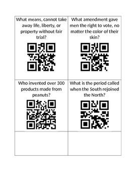 Civil War QR codes