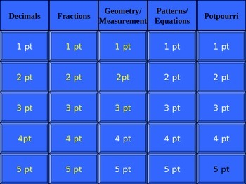 5th Grade Numeration Review 2