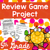 5th Grade Review Project (End of the Year)