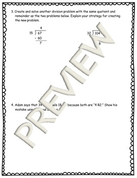 5th Gr Math Modules Review Tests for All Modules & Answer Keys!