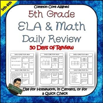 5th Grade Test Prep or Morning Work