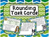 5th Grade Rounding Task Cards