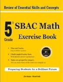 5th Grade SBAC Math Exercise Book