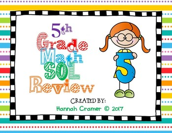 5th Grade SOL Math Review Power Point