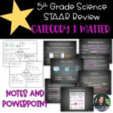 5th Grade Science STAAR Category 1 Review