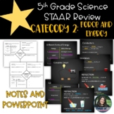 5th Grade Science  STAAR Category 2 Review