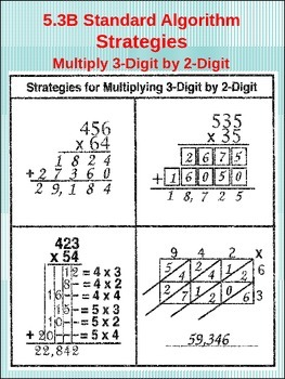 5th Grade STAAR Math: (5.3B) Multiply 3-Digit by 2-Digit (51 Worksheets)