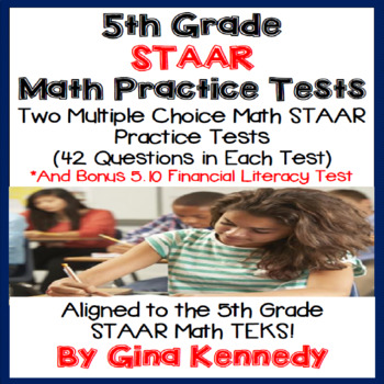 5th Grade STAAR Math Tests, Super Practice!