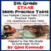 5th Grade STAAR Math Practice Tests