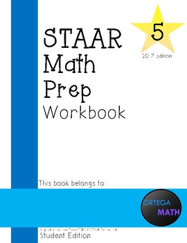 5th Grade STAAR Math Prep Workbook Order