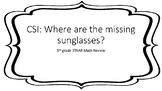 5th Grade STAAR Math Review CSI Game