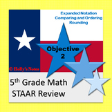 5th Grade Math STAAR Review - Objective 2