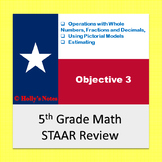 5th Grade Math STAAR Review - Objective 3