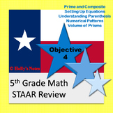 5th Grade Math STAAR Review - Objective 4