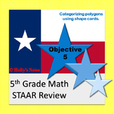 5th Grade Math STAAR Review - Objective 5
