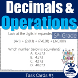 5th Grade STAAR Math Task Cards #3