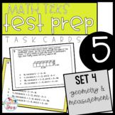 5th Grade Math TEKS Task Cards - Set 4