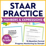 5th Grade Math STAAR Prep (Compare & Order) TEKS 5.2A 5.2B 5.2C 5.4A 5.4E 5.4F