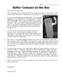 5th Grade STAAR Persuasive Text Reading Passage