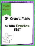 5th Grade STAAR Practice Test