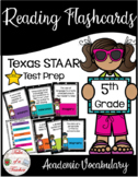 5th Grade STAAR Reading Academic Vocabulary Flashcards