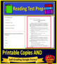 5th Grade STAAR Test Prep Practice Tests Reading Review Bundle