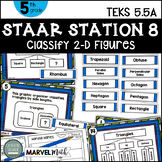 5th Grade STAAR STATION 8: Naming Names  TEKS 5.5A Math Center