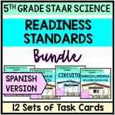5th Grade STAAR Science Bundle Task Cards