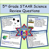 5th Grade STAAR Science Review