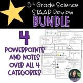 5th Grade STAAR Science Review Bundle