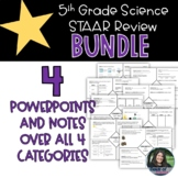 5th Grade STAAR Science Review Bundle