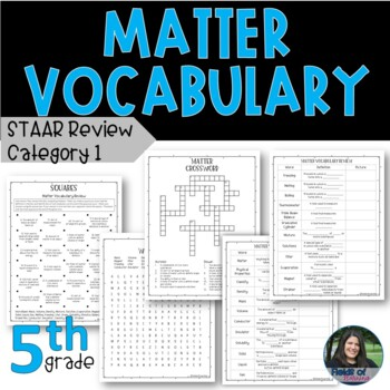 5th Grade STAAR Science Vocabulary Review - Category 1