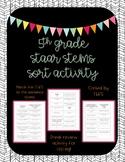 5th Grade STAAR Stem Sort Activity