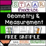 FREE 5th Grade Math STAAR Practice {Geometry and Measurement} Test Prep Sample