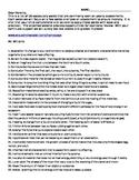 5th Grade STAAR Vocabulary - List of 56