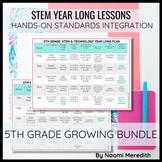 5th Grade STEM Project Ideas   Growing Year Long Bundle