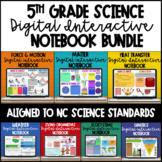 5th Grade Science Digital Interactive Notebooks - NC Essen