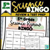 End of Year Science Review BINGO 5th Grade