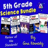 5th Grade Science Bundle, Test-Prep, Task Cards, Vocabular