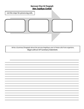 5th Grade Science CA Ch 1 Structure of Living Things/Anticipation Guide