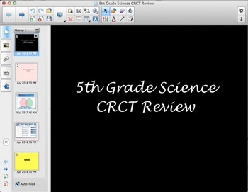5th Grade Year-End Science Test Review SMART Board
