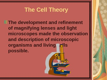 5th Grade Science: Cell Theory