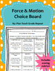 5th Grade Science Choice Board Bundle (63 activities) Rubrics Included!