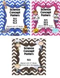 5th Grade Science Concept Poster Bundle 5.P.1 5.P.2 5.P.3
